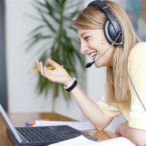 Allgemeinsprachlichen Einzelunterricht Online ist wie im Klassenzimmer