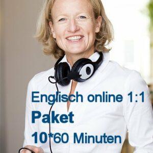 Englisch Einzelunterricht Online | Paket mit 10 Zeit-Stunden