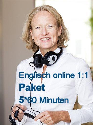 Englisch Einzelunterricht Online | Paket mit 5 Zeit-Stunden
