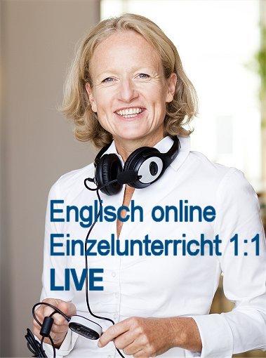 Englisch Online Einzelunterricht LIVE